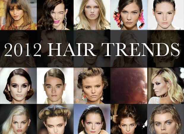 Womens 2012 Hair Trends