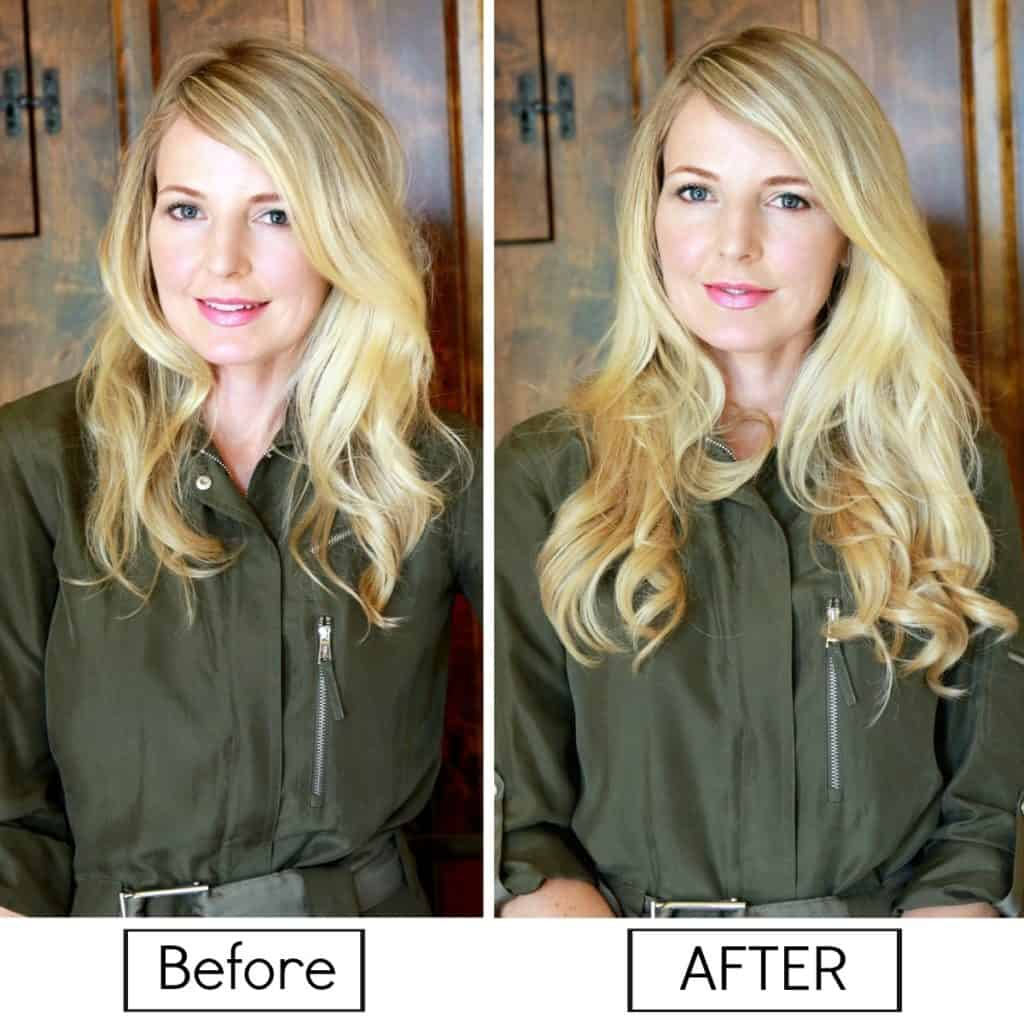 before & after halocouture